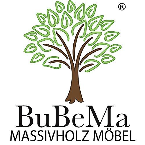 Betten-ABC Bubema Juliane Massivholzbett aus Kernbuche mit Kopfteil in Farbton natur Geölt | 100 x 200 cm