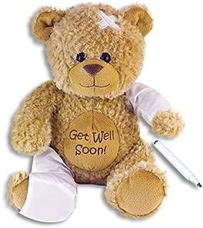 feel better teddy bear with arm sling