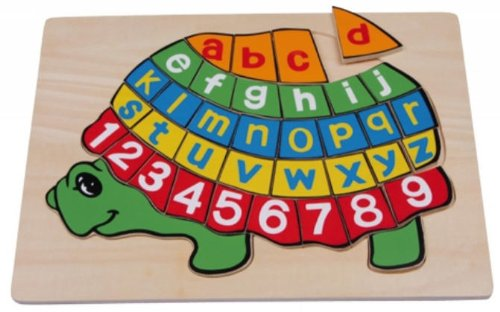 Puzzle ABC turtle \
