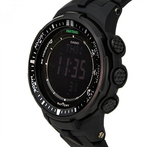 『[カシオ]CASIO 腕時計 PROTREK プロトレック PRW-3000-1A オールブラック メンズ [逆輸入モデル]』の6枚目の画像