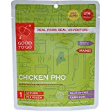 GOOD TO-GO Chicken Pho - Single Serving | Dehydrated Backpacking and Camping Food | Lightweight | Easy to Prepare