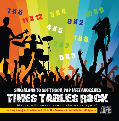 """Times Tables Rock Audio CD. Maths will never sound the same againâ""""¢."""