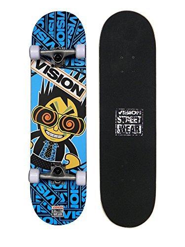 Vision Japan Style Series Kiddy Skateboard 78,8 cm (31 Zoll) Blau - blau