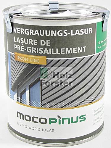 MOCOPINUS Alpincolor Vergrauungslasur V-1221 silbergrau, 0,75 Liter