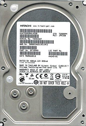 Hitachi HUA722020ALA330 P/N: 0F10949 MLC: JPK33B 2TB