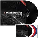 Native Instruments Traktor Scratch Control Vinyl MK2 - Black, Single...