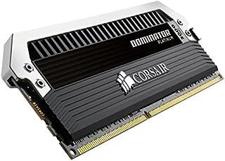 Corsair Dominator Platinum 16 GB módulo de - Memoria (16 GB, 4 x 4 GB, DDR3, 3000 MHz, 240-pin DIMM, Negro, Plata)