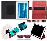 Hülle für Asus MeMO Pad 10 ME103K Tasche Cover Hülle Bumper | in Rot Leder | Testsieger