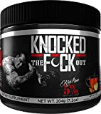 Rich Piana 5% Nutrition Knocked Out Sleep Aid | Post-Workout Recovery & Support Supplement | GABA, Melatonin, Chamomile, Tyrosine, 5-HTP, More | 5.71 oz, 30 Servings (Apple Cider)