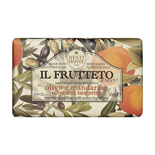 Nesti Dante 6641-04 Il Frutteto olive & tangerine Seife
