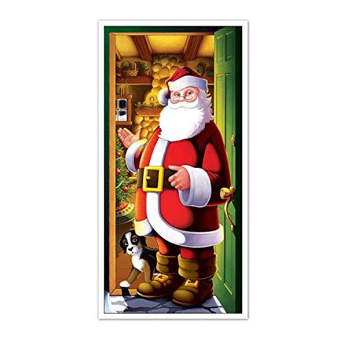 Beistle Santa Door Cover, 30' x 5'