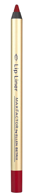楕円形気質ペックMax Factor Lip Liner, 012 fire