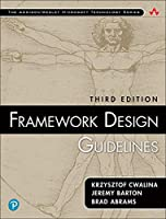 Framework Design Guidelines, 3rd Edition Front Cover