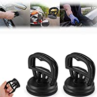 2pcs Dent Puller Bodywork Repair Car Suction Cup Remover Tool,for Cars Dent, Glass, Tiles, Mirror, Lifting and Objects Moving, Small