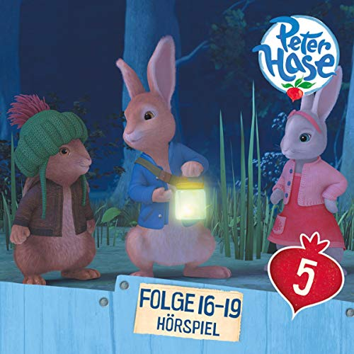 Peter Hase 16 - 19 audiobook cover art