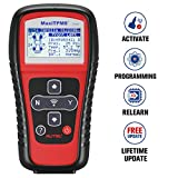 Autel TPMS Relearn Tool TS401, Tire Pressure Monitor Sensor TPMS Reset Tool for GM, Ford and More Vehicle Brands. TPMS Reset, Sensor Activation, Program, Key Fob Testing, with Lifetime Update
