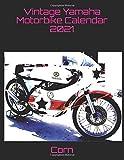 Vintage Yamaha Motorbike Calendar 2021