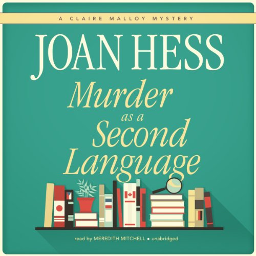 Murder as a Second Language cover art