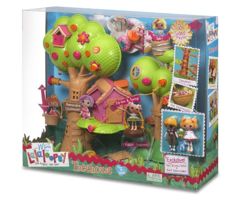 MGA Entertainment Zapf Creation 506775E4C - Mini Lalaloopsy, Casa del árbol (plástico)