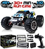 1:10 Scale Large RC Cars 48+ kmh Speed - Boys Remote Control Car 4x4 Off Road Monster Truck Electric...
