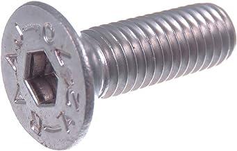 Argent 50mm B Baosity 50x T/ôle T/ôle Auto-foreuse /à T/ête Hexagonale N /° 8 Avec Vis /à M/étaux 410 En Acier Inoxydable