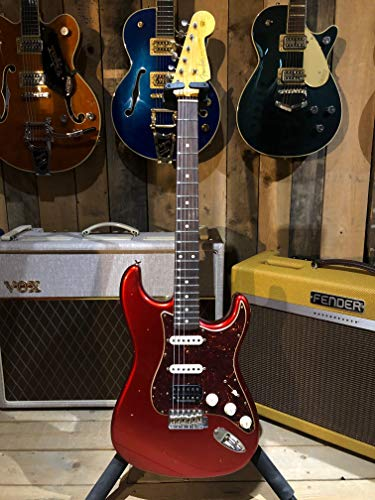 Fender Custom Shop '60 Stratocaster Journeyman HSS, Rosewood, Candy Apple Red