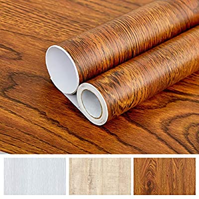 Wood Peel and Stick Wallpaper Self Adhesive Wal...