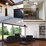 Gaeirt Cámara Domo de Alta definición 1 Luces infrarrojas para Seguridad en Interiores y Exteriores(5MP NTSC Format)