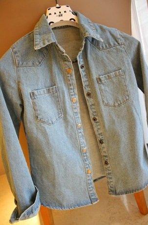 『デニムジャケット Gジャン タンガリーシャツ レディース (S)』の1枚目の画像
