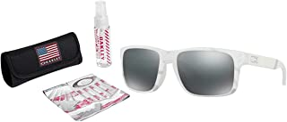 Holbrook Sunglasses with USA Flag Lens Cleaning Kit