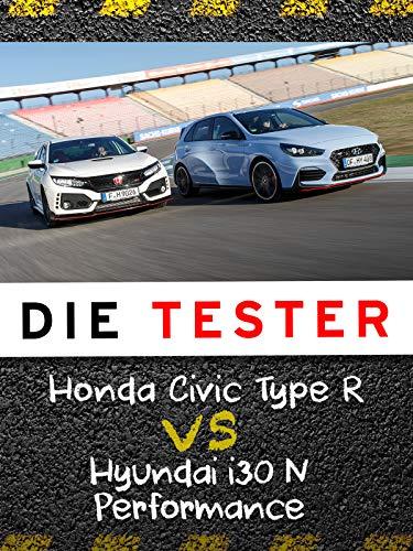 Die Tester: Honda Civic Type R vs Hyundai i30 N Performance