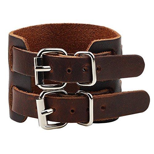 Armband aus echtem Leder – Armband für Herren – Johnny Depp Style