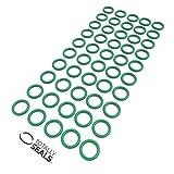 Guarnizioni ad anello in gomma Viton FKM, 6 mm x 2,5 mm (diametro esterno 11 mm), durezza 75 A, confezione a scelta, Green, 1