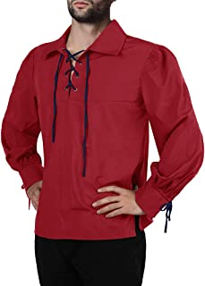 medieval lace shirt