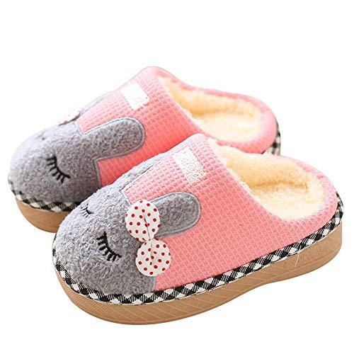 Niños Pequeños Niños Chicas Lindas Zapatillas De Animales Botas Botines Zapatos Suela De Goma Antideslizante