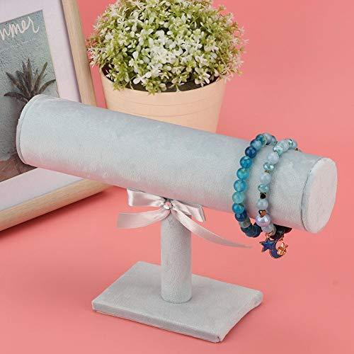 Estante estable para pulsera, soporte colgante, PVC flocado