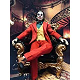 【R・DOLL】 1/6 フィギュア 素体 男性 ヘッド スーツ 革靴 セット ジョーカー 映画 欧米 犯罪 リアル SWTOYS