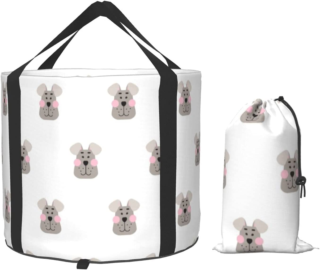 Purchase Cute Outlet SALE Blush Dog Collapsible Portable Multifunctional Campi Bucket