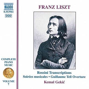 Liszt Complete Piano Music, Vol. 7: Rossini Transcriptions