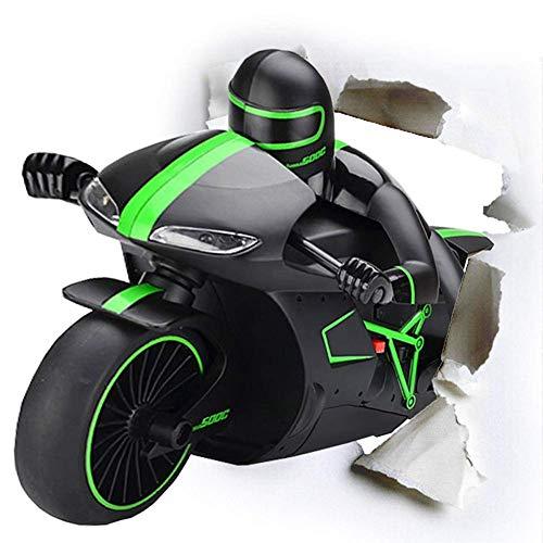 yanzz Junge ferngesteuertes Spielzeugauto, 2,4 GHz Mini Fashion RC Motorrad Spielzeug High Speed RC Motorrad Modell Spielzeug mit leichtem Tumbling Stunt Racing