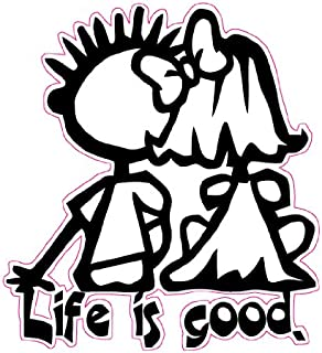 Nostalgia Decals Life is Good Decal 5