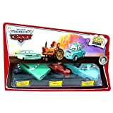 Disney / Pixar CARS Movie 1:55 Die Cast Story Tellers Collection Wedding Day Ramone, Tractor and Brand New Teal Mater by Mattel by Mattel