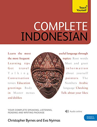 Compare Textbook Prices for Complete Indonesian Beginner to Intermediate Course: Learn to read, write, speak and understand a new language Teach Yourself Complete Courses 1 Edition ISBN 9781444102338 by Byrnes, Christopher,Nyimas, Eva