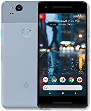 Pixel 2 Phone (2017) by Google, G011A 64GB 5in inch Factory Unlocked Android 4G/LTE Smartphone (Kinda Blue) - International Version (Renewed)