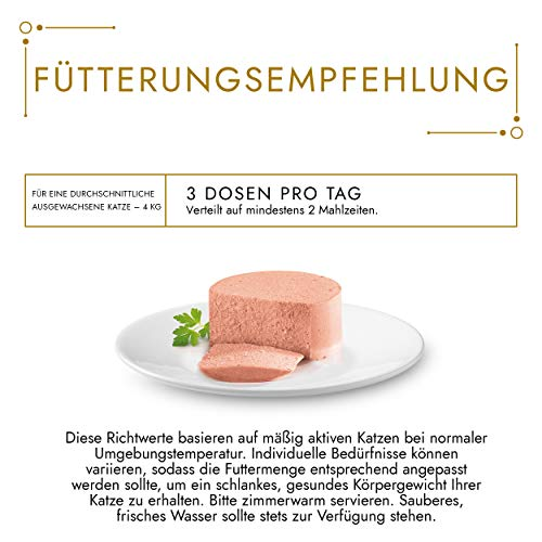 Gourmet Gold Katzenfutter Feine Pastete mit Thunfisch, 12er Pack (12 x 85 g) Dosen - 4