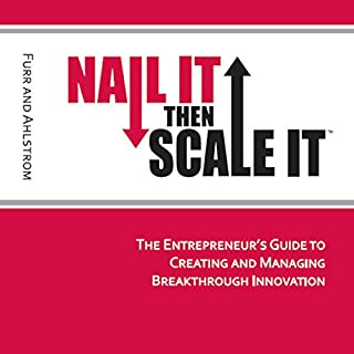 Nail It Then Scale It audiobook cover art