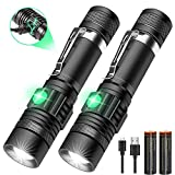 Aomees LED Torch Powerful Flashlight Torches USB...