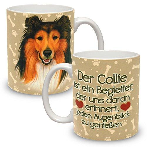 Kaffeebecher mit Motiv Hund Große XXL Tasse Collie