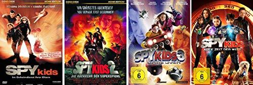 Spy Kids 1-4 im Set - Deutsche Originalware [4 DVDs]