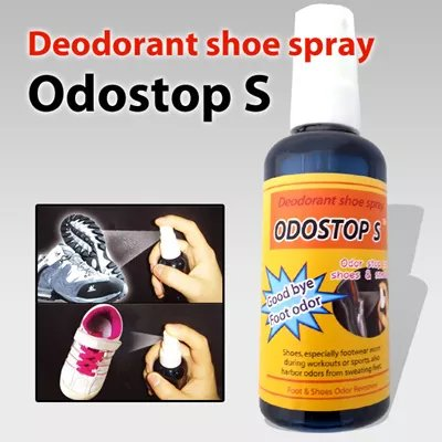 Odostop S Sports Deodorant, Deodorizers for Shoes Foot Odor Remover Socks, Golf, Tennis, Badminton, Football, Baseball